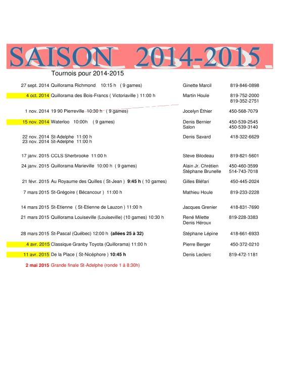 Saison_2014-2015 CCSQ